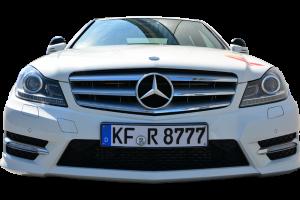 Mercedes C-Klasse Front freigestellt