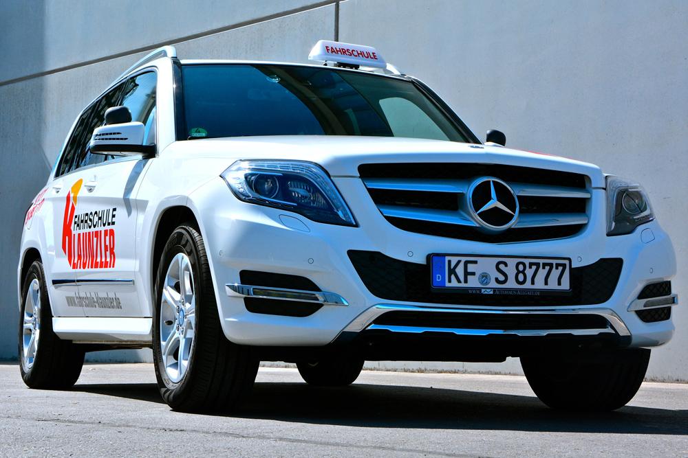 Mercedes GLK Front
