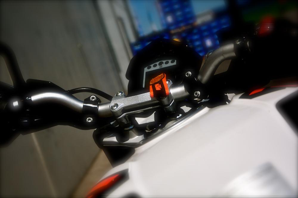 KTM Duke Cockpit