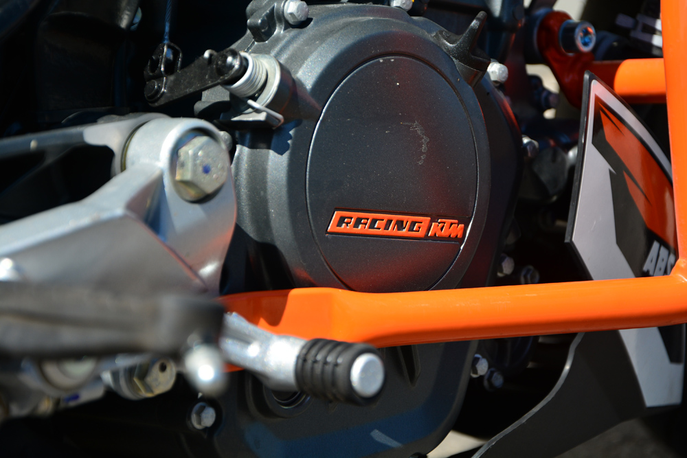 KTM Duke Motor